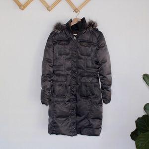 Guess | gray puffer coat